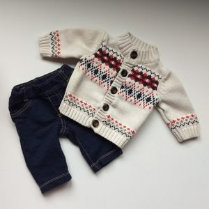 Carter's Baby Knit Sweater and Pants * Size 3M